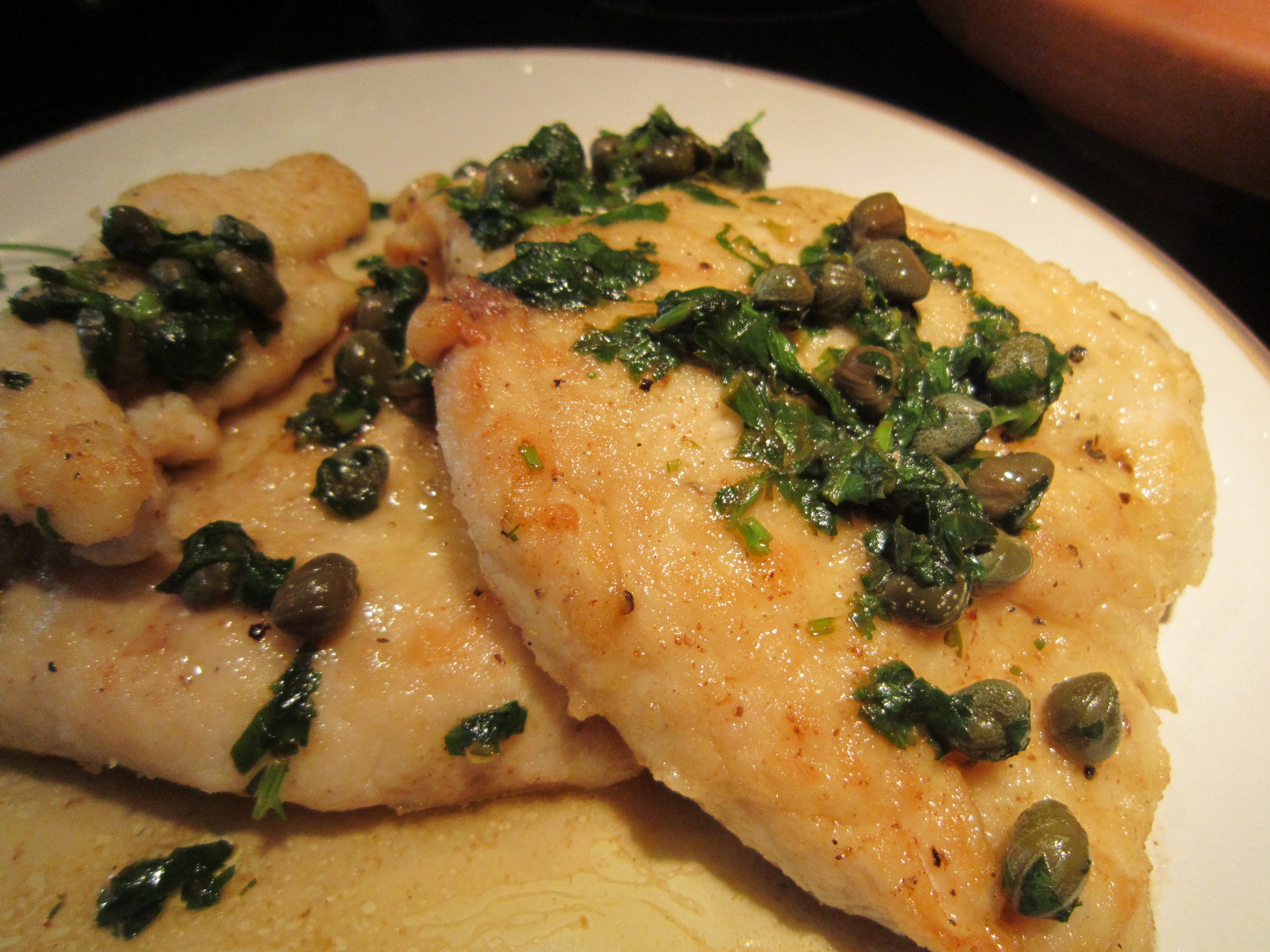 chicken piccata chicken piccata chicken piccata with fried capers ...