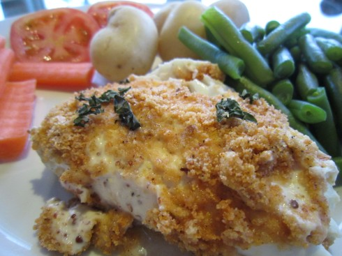 how to cook breaded halibut fillets
